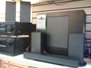 Sony SA FT1H 5 1 Channel Home Theater Speaker System Display Model