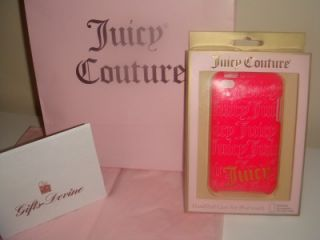 Juicy Couture iPod Touch Case 4G Hot Pink