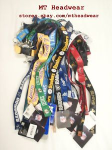 Official Licensed NFL Lanyard Keychain Every Team