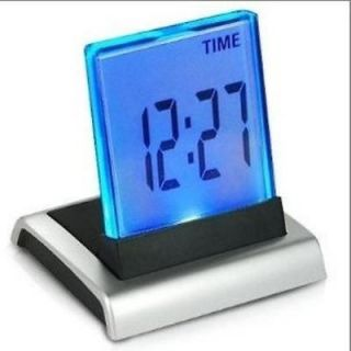 Eiiox Large Digital LED LCD Display Screen Desk Alarm Clock Home Bedroom Decor