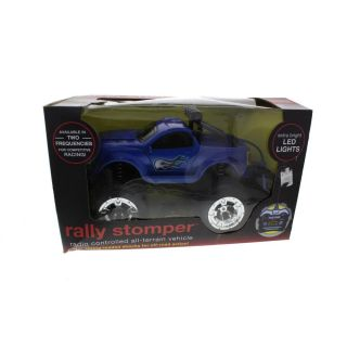 Shift 3 New Rally Stomper Blue LED Lights All Terrain Remote Control Truck BHFO