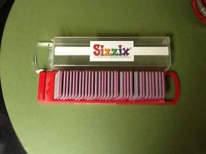 Sizzix Sizzlits Girls Are Weird Alphabet Letters Numbers Symbol Set 35 Dies Case