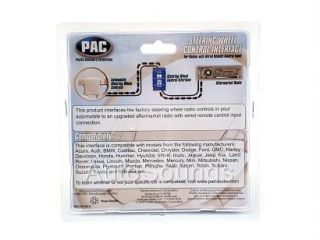 Pac SWI Jack Steering Wheel Remote Adapter Kit Alpine JVC Clarion Kenwood