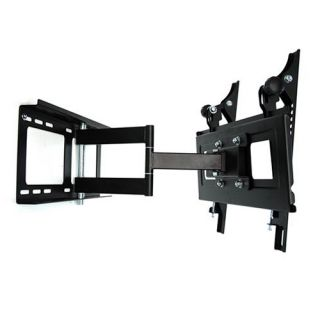 Full Motion Articulating Single Arm LCD LED TV Wall Mount 23 24 26 32 37 40 42