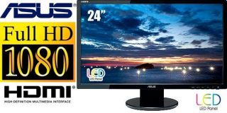 "24"" LED Asus VE247H 2ms Widescreen LCD Monitor Built in Speakers 4719543331521"