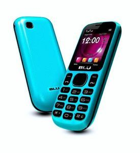 Blu Jenny T172 Dual Sim Quadband Unlocked GSM Blue Cell Phone New