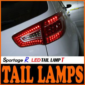 LED Tail Light Lamp DIY Kit L R for 11 Kia Sportage R