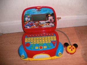 Mickey Mouse Clubhouse Learning Laptop Computer Educational Baby Learning Toy