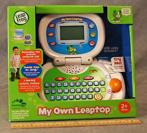 "Leap Frog ""My Own Leaptop"" Play Learning Laptop New"