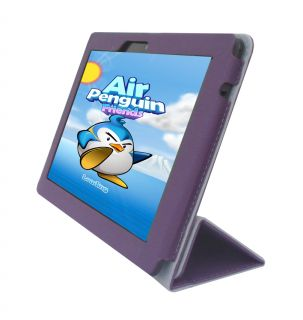 Accessories Cover Case Purple Charger Cable LCD for  Kindle Fire HDX 8 9