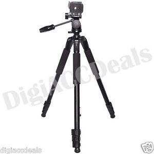 "XIT Photo XT80TRPRO 80"" Pro Heavy Duty Tripod for All Cameras and Camcorders"