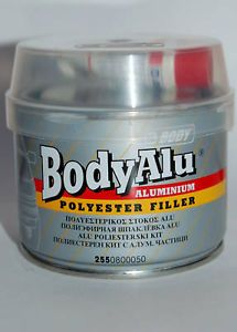 Car Aluminum Alloy Wheel Repair Filler 250g Silver