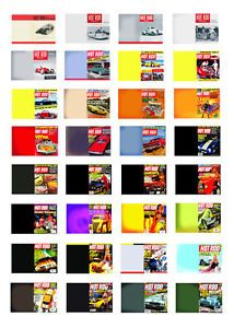 1 25 G Scale Model Car Hot Rod Magazines