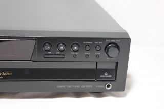 Sony 5 CD Compact Disc Player Changer CDP CE375