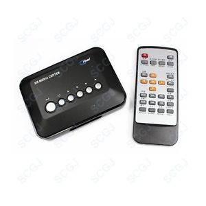 HD TV Media Movie RMVB MPEG Center Player SD SDHC USB Flash Drive Reader 1080p