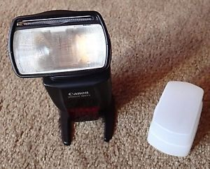 Canon Speedlite 580EX II Shoe Mount Flash for Canon with Defuser 0013803044515