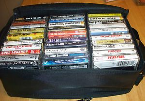 Lot Rap Hip Hop Motown R B Cassettes Case Scarface Snoop Isley Bro Parliament