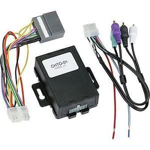 Metra Chto 01 Amplifier Interface Audio System Harness Chrysler Jeep Dodge