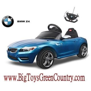 BMW Z4 Electric Kids Ride on Battery Powered Wheels Car RC Remote Control Blue