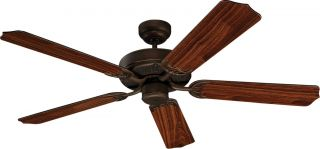 "Monte Carlo 5HM52RB Homeowner Max Bronze Energy Star 52"" Ceiling Fan"