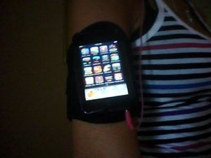 Black Arm Wrist Band Strap Cell Phone iPod Touch Case