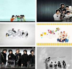 SS501 KPOP Laptop Netbook Skin Cover Sticker Decal