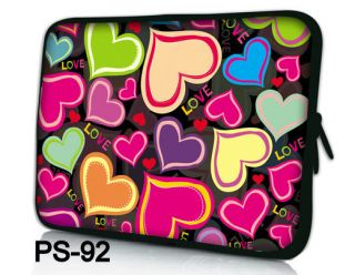 "Hearts Design 13"" 13 3"" Netbook Laptop Sleeve Bag Case for Apple MacBook Pro Air"