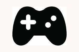 Video Game Controller Sticker Icon Car Window Vinyl Decal Joystick Console Pad