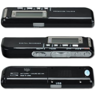 New Pro USB 8GB Digital Voice Recorder Dictaphone  Player HQ Audio Recorder