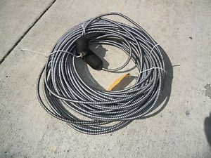 250' Extension Cord 20 Amp 480 Volt Twist Lock Plugs XLNT Condition and Cheap