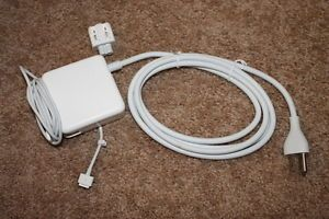 "60W T Tip AC Power Charger Adapter for MacBook 13"" 15 with 6 ft Extension Cord"