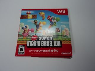 New Super Mario Bros Nintendo Wii Disc Only