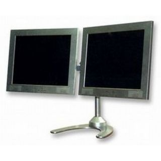 PSG02576 Dual LCD Monitor Desk Mount Weighted Metal Base