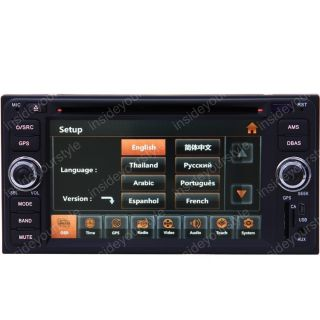 04 09 Toyota 4Runner Car GPS Navigation Radio TV Bluetooth USB  iPod DVD USB