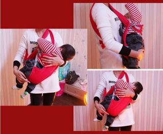 New Front Back Infant Kid Baby Carrier Safety Comfort Sling Pouch Wrap