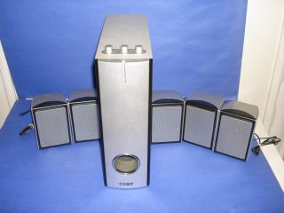 Coby Model CS P63 5 1 CH Home Theatre Speakers System