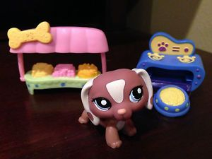 ★ Littlest Pet Shop LPS ★ Dachshund 1631 Oven Food Food Center