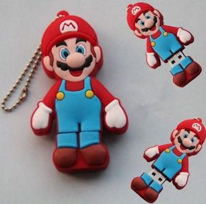 Cool Cute Mario Model USB 2 0 Memory Stick Flash Pen Drive 8GB P181