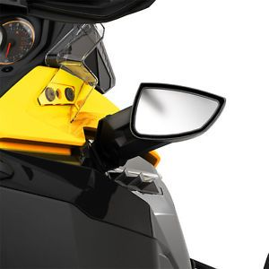 DOO REV XM REV XS BLACK SIDE MOUNT MIRROR KIT #860200607