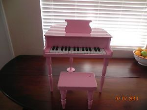 kiddy Keys Toy Baby Grand Piano Child's Musical Instrument