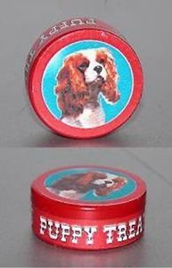 Dog Treats Tin Can Dollhouse Miniature Pet Supply 1 12 Scale Food Puppy