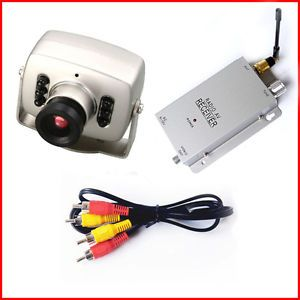 Wireless Mini CCTV Hidden Color Pinhole Security Camera Spy Cam Night Vision