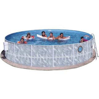 Heritage Pools 42 Round Pool Package with Port Hole