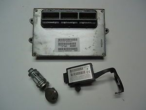 '99 Jeep Grand Cherokee Security ECU Computer Immobiliser Key 4 0 56041423AH