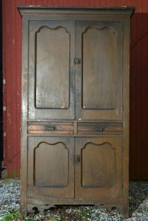 Antique Civil War Era Mid 1800s Pie Safe Jelly Cupboard Gettysburg Primitive