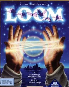 Loom PC CD Dos Game Magical Notes Spells Fantasy Adventure Game Lucas Arts