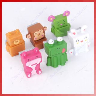 Cute Animal PC Computer Keyboard Screen LCD Monitor Dust Clean Cleaner Brush