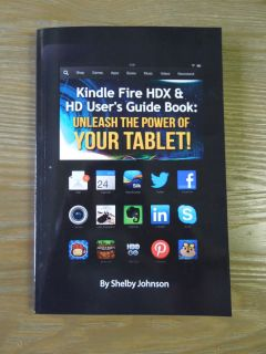 Kindle Fire HDX HD Tablet User's Guide Book Manual
