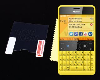 Anti Glare Matte LCD Screen Protector Film Cover for Nokia Asha 210