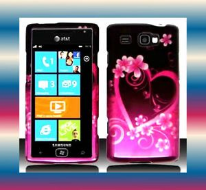 PLove Samsung Focus Flash SGH i677 Snap on Phone Cover Hard Shell Case Skin